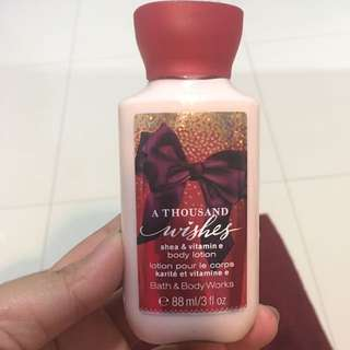 Body Lotion Bath & Body Works