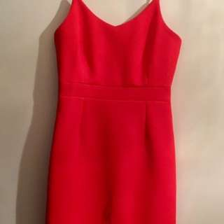 New Levora Orange Dress