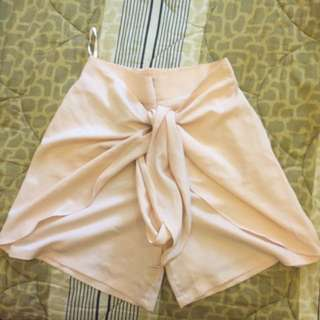 Cotton Ink - Pinkish Beige Short Cullotes