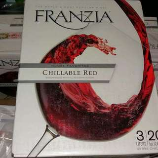 Franzia California Red Wine 3liters