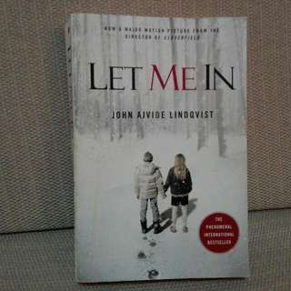 """🎆SALE !! 🌟""""LET ME IN"""" by John A Lindqvist"""