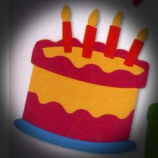 Sizzix Die - Birthday Cake