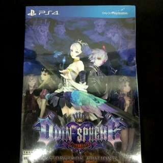Ps4 Odin Sphere Leifthrasir Storybook Edition - R1 English (Brand New & Seal)