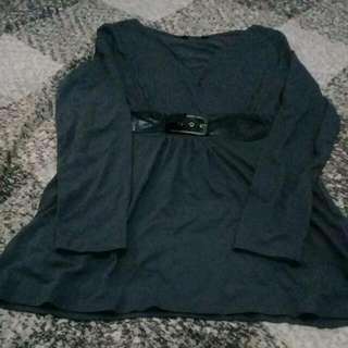 Dress Or Blouse Grey