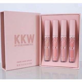 Kylie KKW Lipcream Set