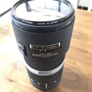Nikon 80-200 F2.8D