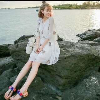 波西米亞風洋裝