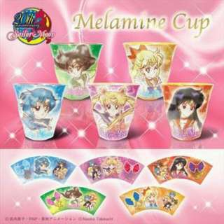 Sailor Moon 20th Anniversary Melamine Cups
