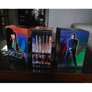 3 sets of James Bond Movies DVD (NTSC system)