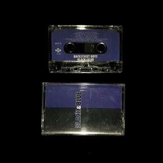 Backstreet Boys - Black And Blue Casette Tape