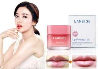 全新現貨 韓國 korea  LANEIGE睡美人極萃滋養晚安唇膜20g ( 草莓口味 )
