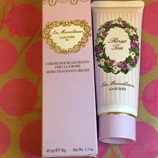 Laduree Rose Tea Hand Cream