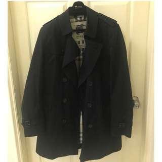 Burberry 男經典款大衣