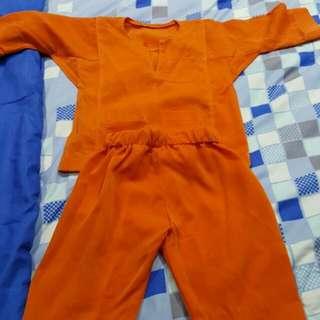 Baju Melayu 0-1 Years Old Kids