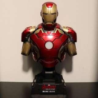 Hot Toys 1/4 Iron Man Mark 43 XLII Bust