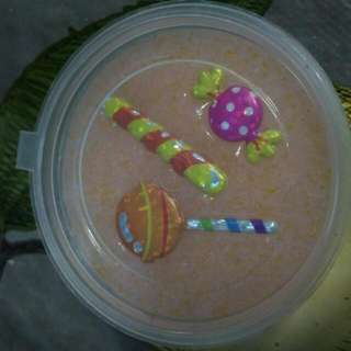 Bubbly Glitter Surprise Slime