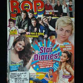 BOP, J-14 and Tiger Beat Magazines with free posters
