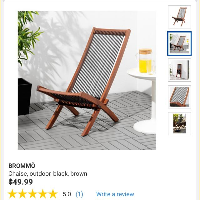 2 Outdoor Lounge Chairs Furniture Others On Carousell