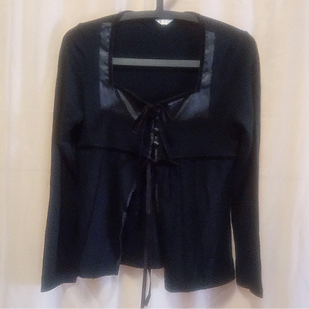 #92  M~L針織棉質外罩衫 僅試穿