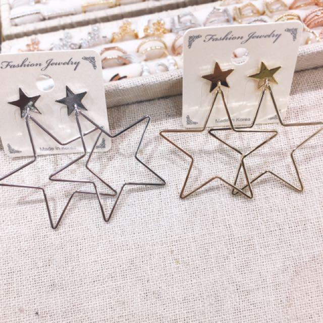 韓國連線✈️✈️星星耳環