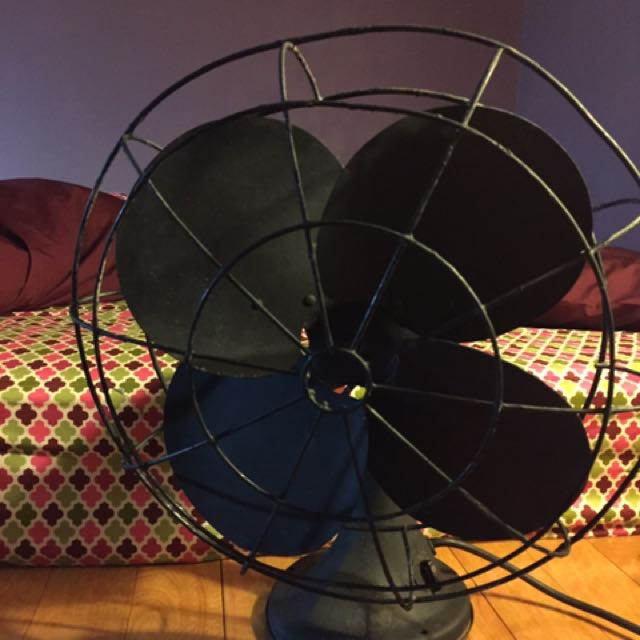 美國製古董風扇