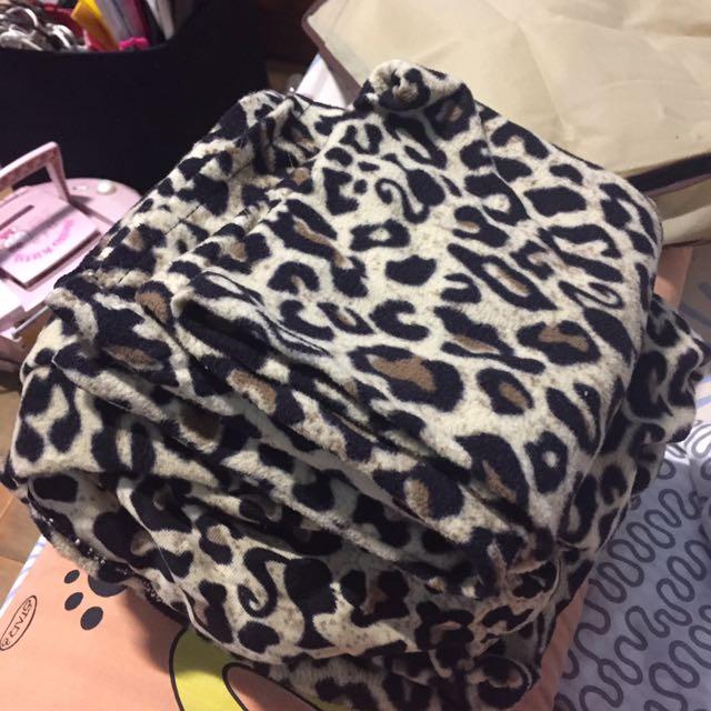 (含運)豹紋 單人 床單 附一個枕頭套