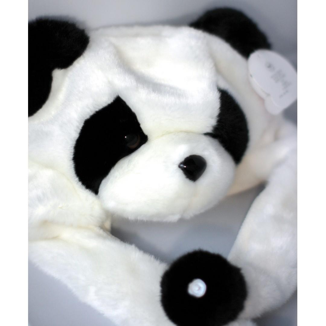 ✨🐼 Fluffy panda hat 🐼✨