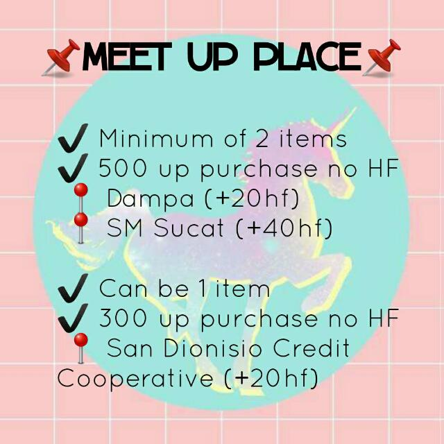 ISABELLA: Meet up place