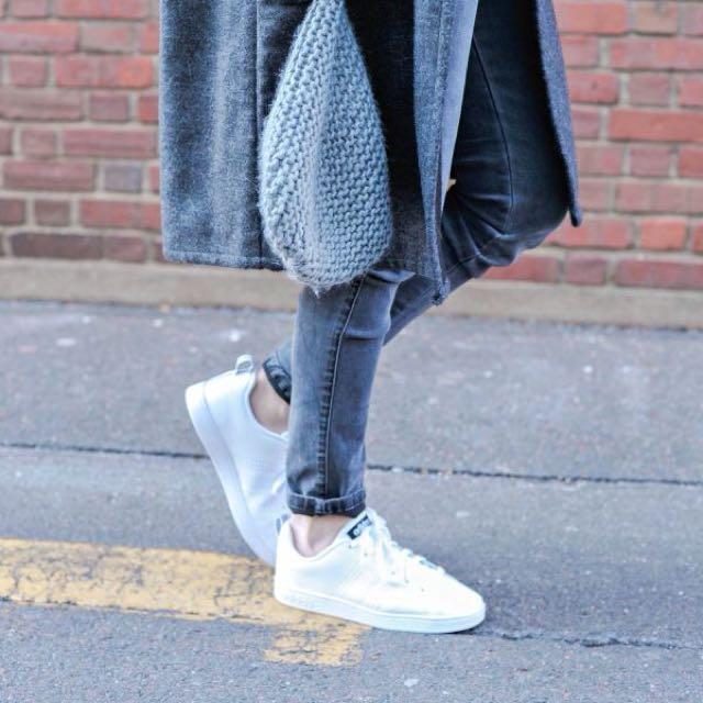 Adidas Neo Advantage Full White Original