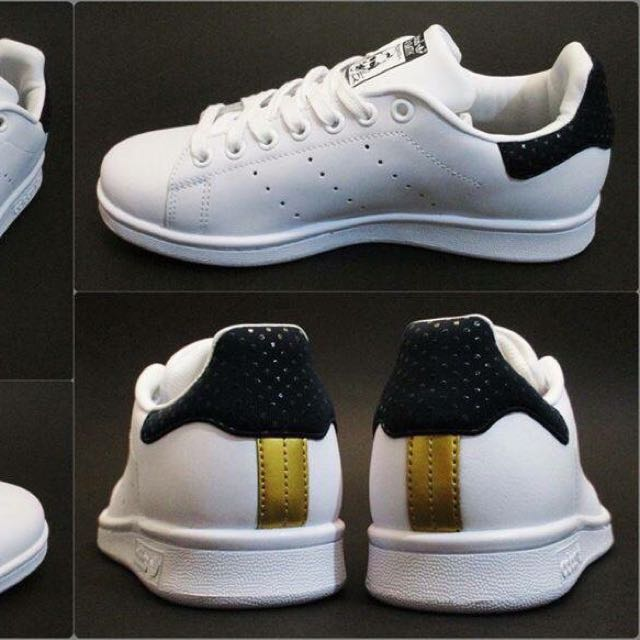 Adidas Stan Smith W X Rita Ora (Legend Ink/Gold), Preloved Women's Fashion,  Shoes on Carousell