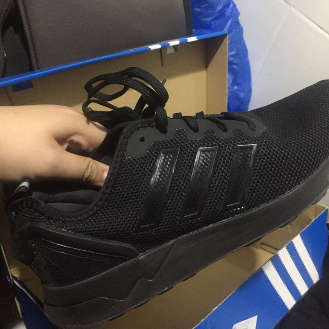 516625e66a9de ... ireland adidas zx flux black authentic mens fashion footwear on  carousell c4019 cbff3
