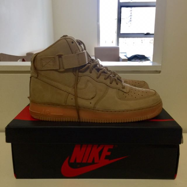 Air Force 1 Wheat / Flax US9 (fits like US9.5)
