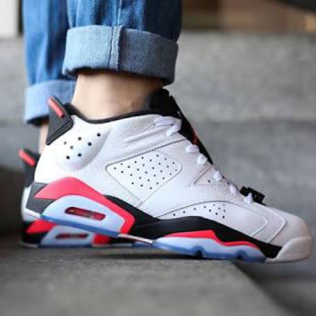 separation shoes fc12a 4349c Authentic Air jordan 6 Retro Low Infrared, Women s Fashion, Shoes on ...