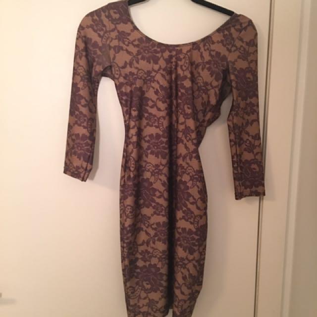 American Apparel Low-back Dress