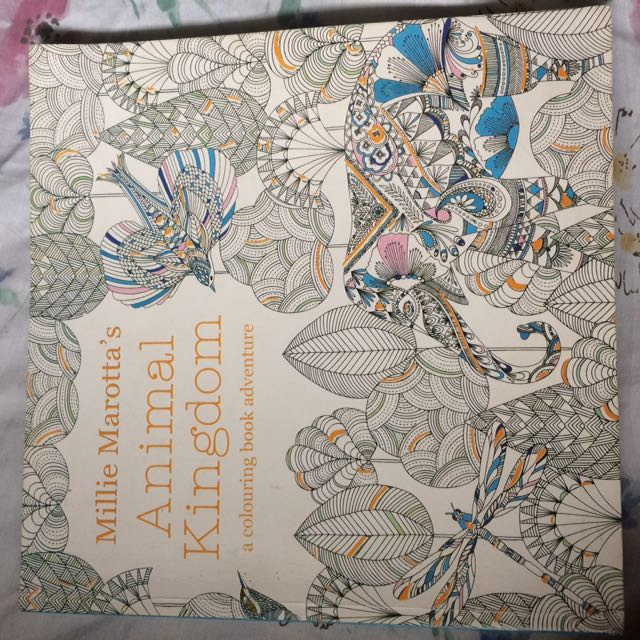 Animal Kingdom Coloring Book Books Magazines Others On Carousell