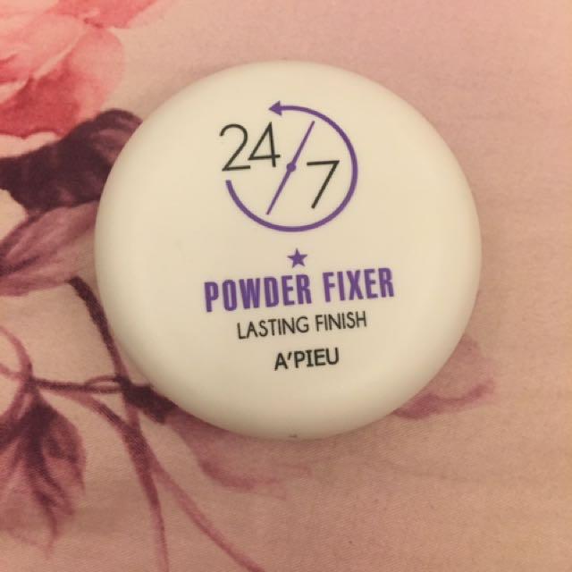 Apieu 24/7 powder fixer 持久定裝蜜粉