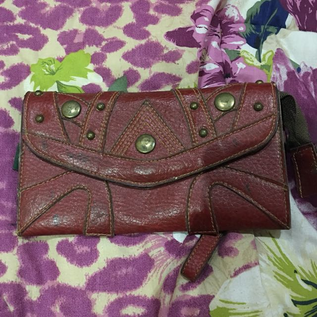 Authentic Garsell Red Wallet