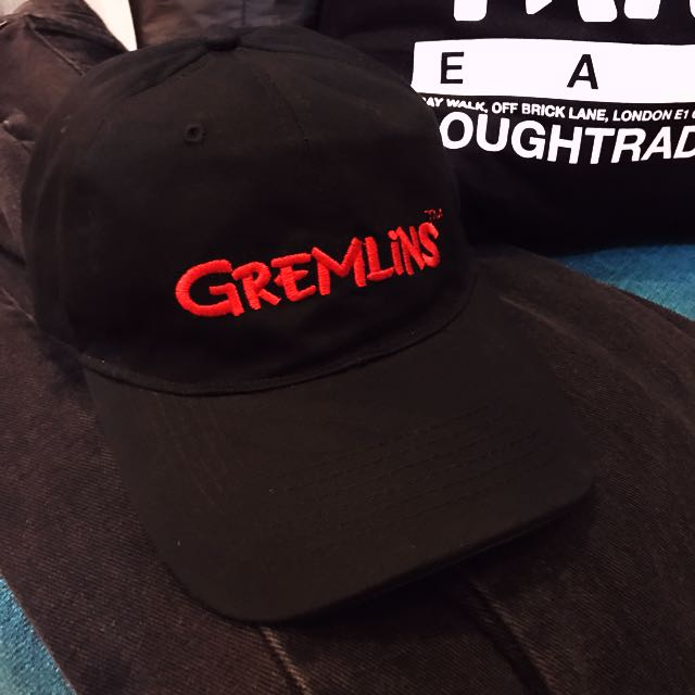 8ae75a00095 Authentic Official Gremlins The Movie Cap 5 Panels Dad Cap