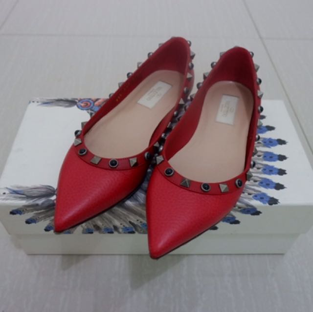 Authentic Valentino Flat Shoes Size 36