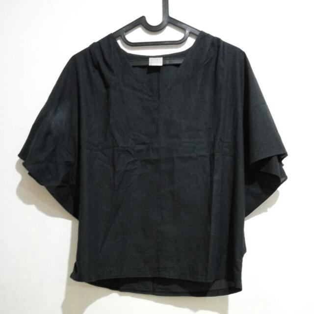Baju Model Sayap (Hitam)