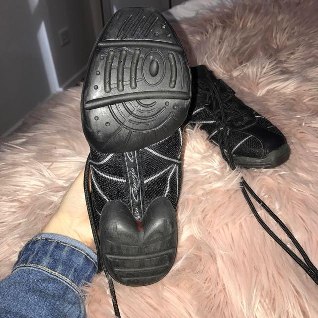 Black Capezio Jazz Sneakers