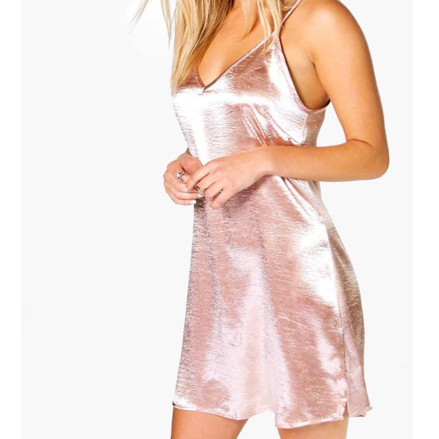 BOOHOO SLIP DRESS