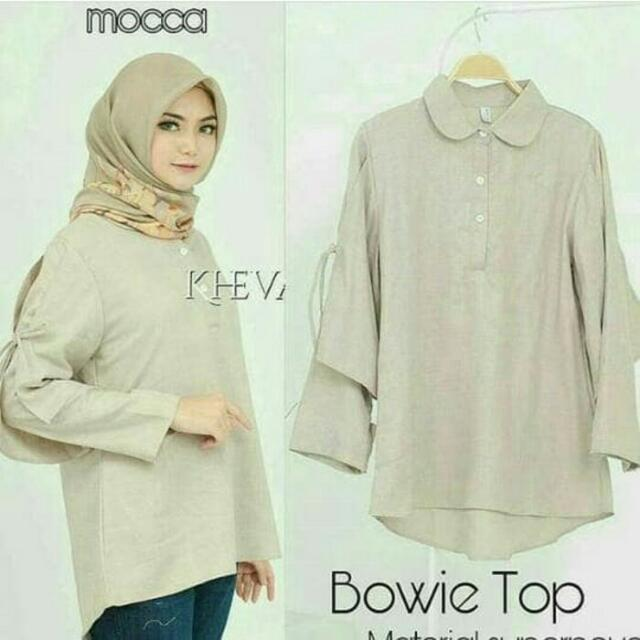 BOWIE TOP BLOUSE • BSB