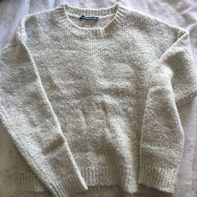 Brandy Melville Fuzzy Sweater
