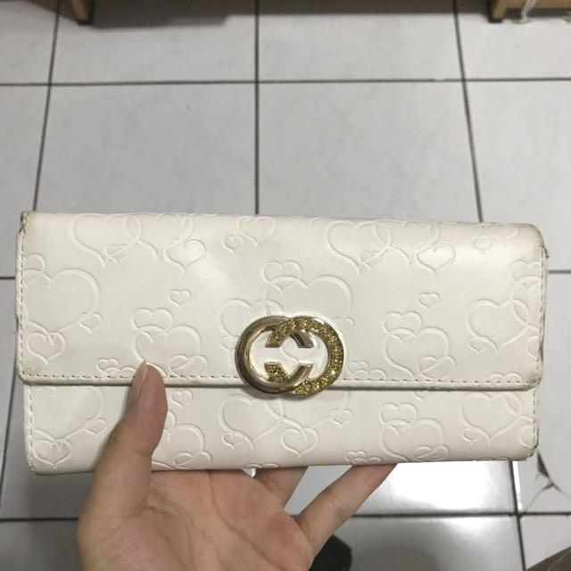 BUY 1 GET 1 FREE!!! white wallet