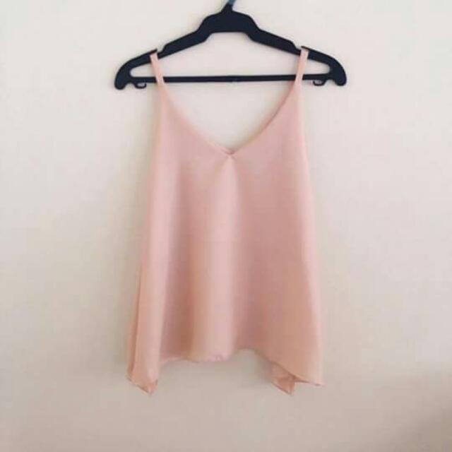Cami Top (Pinkish Beige)