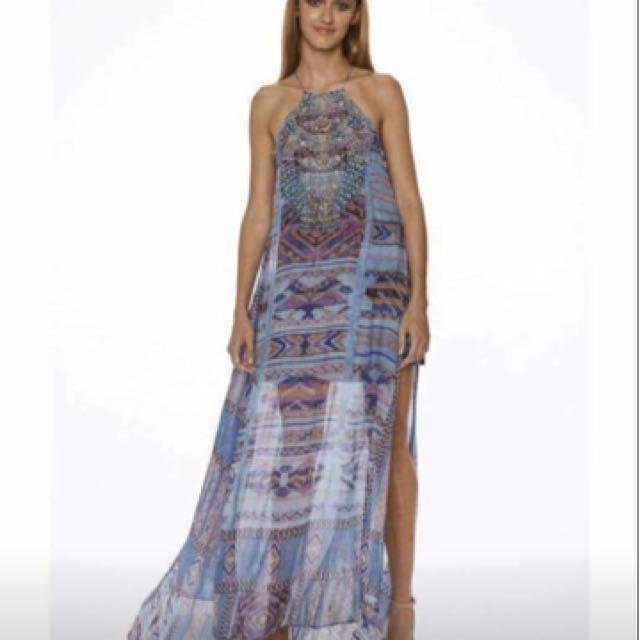 Camilla Sheer Overlay Dress