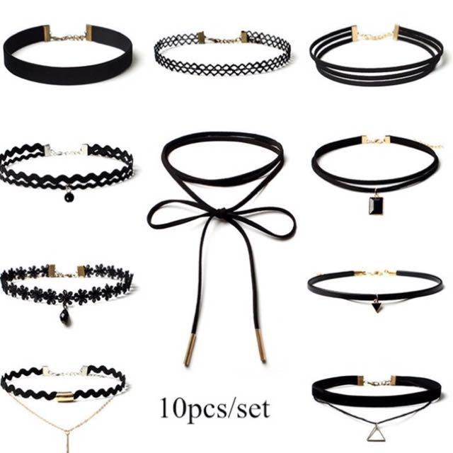 Chocker/necklace Set