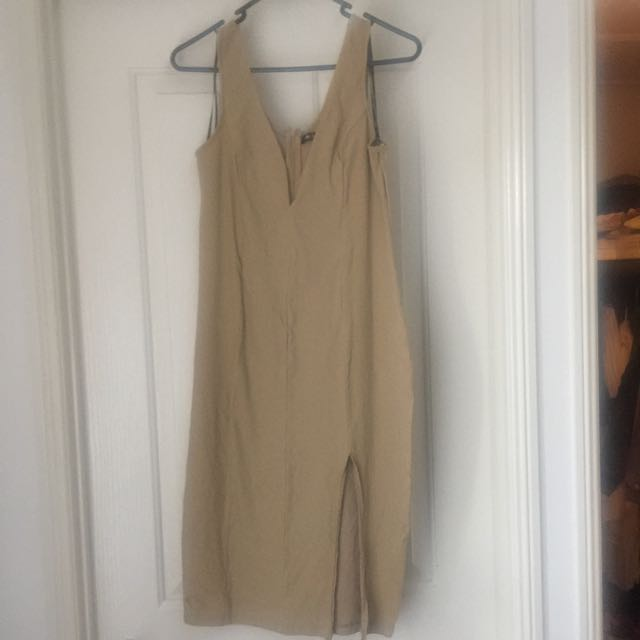 Chic-a-Boo Nude Dress