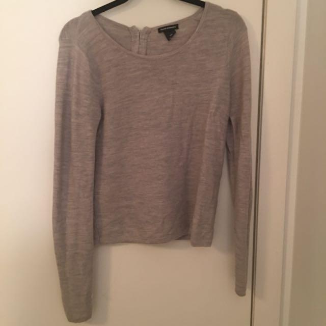 Club Monaco Gray Knit Sweater